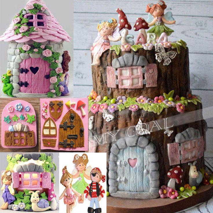 17 best Fairy Garden Cake Ideas images on Pinterest Fairies