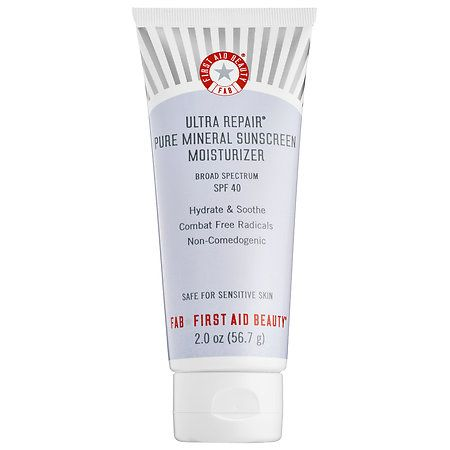 First Aid Beauty - Ultra Repair® Pure Mineral Sunscreen Moisturizer Broad Spectrum SPF 40 - (null) #sephora