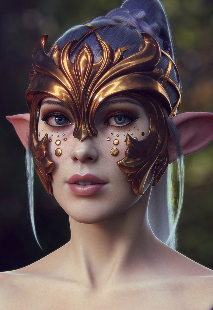 Bringing a fantasy character to life By Dmitry Cheremisin                                                                                                                                                     More