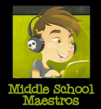 Oh Middle School teachers - how you have a very different set of challenges from elementary teachers. Well, this website was created with you in mind! All Middle School only! Enjoy and thanks for hanging out!  http://www.middleschoolmaestros.com/