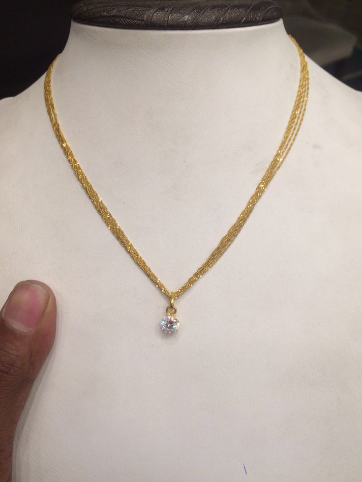 6 Gms chain pendent