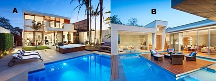 Which pool space suits better to your taste? Let us know...
