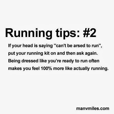 Running tips and advice for beginner runners More running motivation and training tips at http://www.manvmiles.com