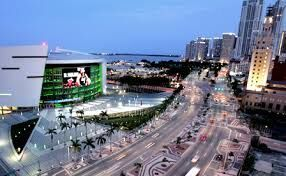 The American Airlines arena located on Biscayne Boulevard is home of the Miami Heat NBA team.  #Destination #Miami #Fontainebleau #MiamiHeat #BiscayneBlvd