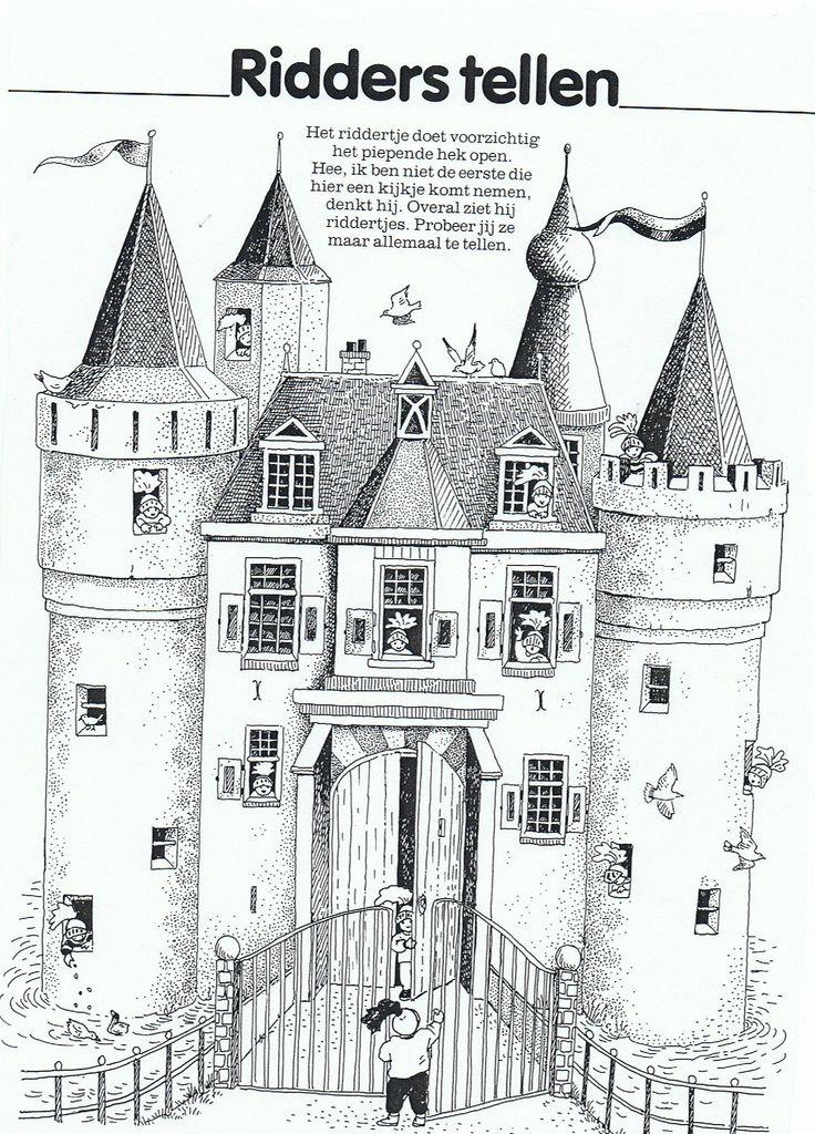 174 best images about kastelen ridders prinsessen on for Werkbladen ridders en kastelen
