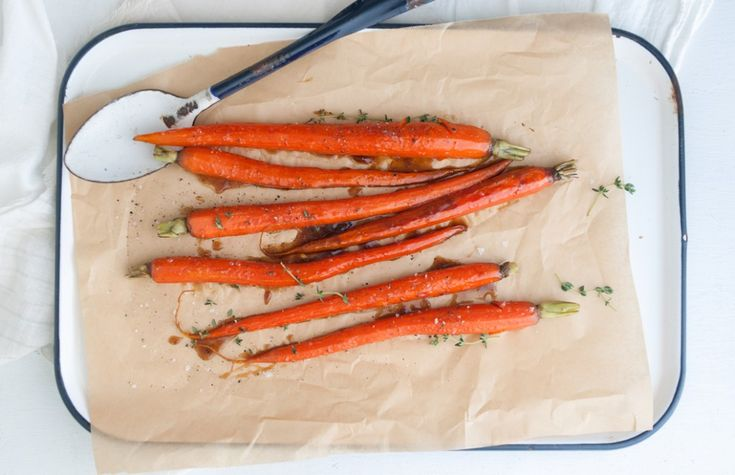 Whiskey Glazed Carrots from Some Kitchen Stories