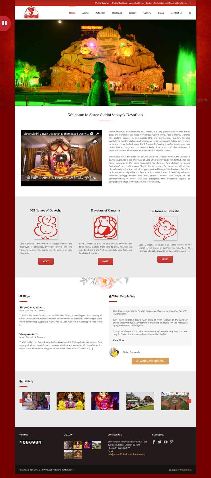 Shree Siddhi Vinayak - XMX Solutions
