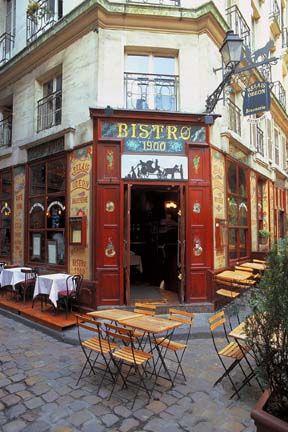 Paris, France Bistro 1900
