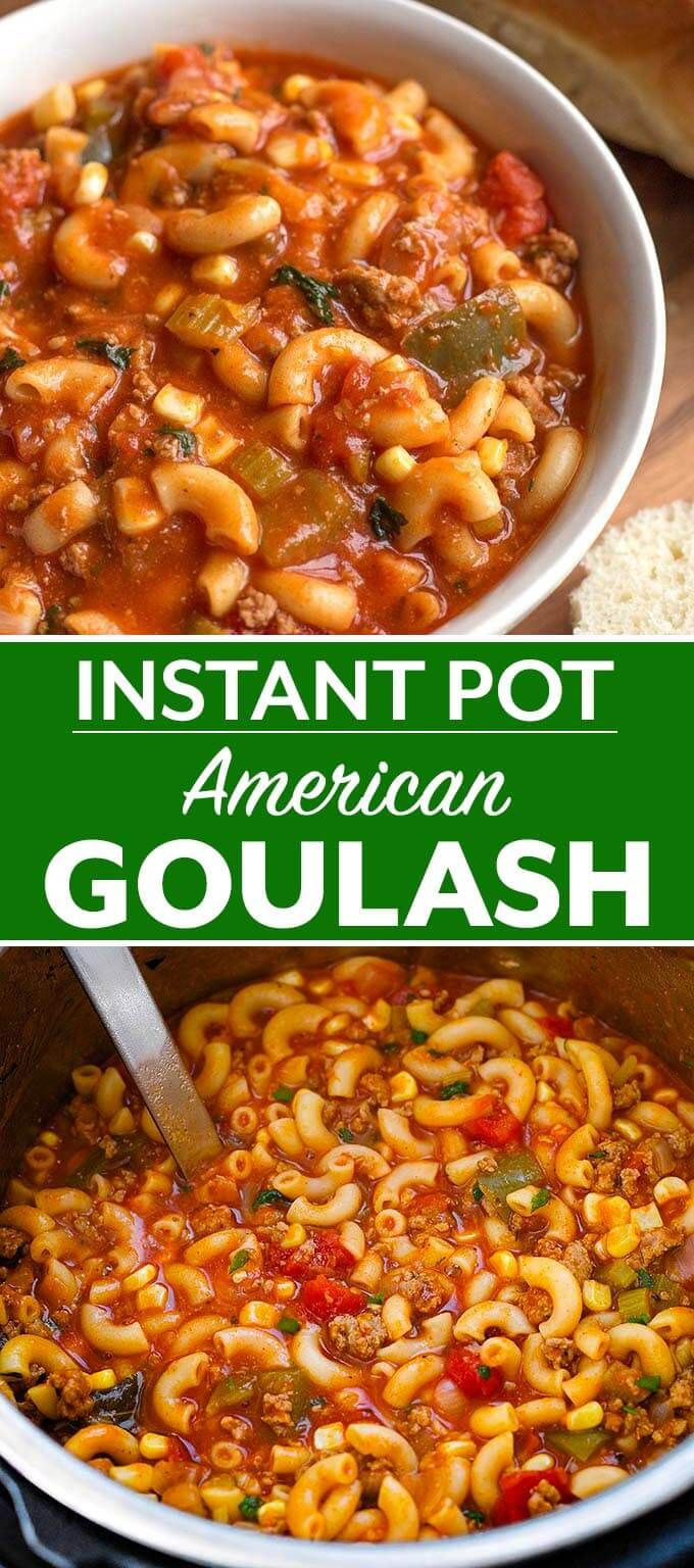 Instant Pot American Goulash is a classic one-pot meal many of us grew up with. …