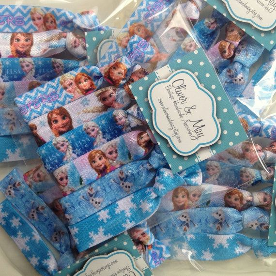 DELUXE FROZEN Birthday Party Favor Packs of 6 FOE by OliverandMay, $19.99