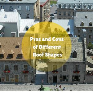 Pros and Cons of Different Roof Shapes