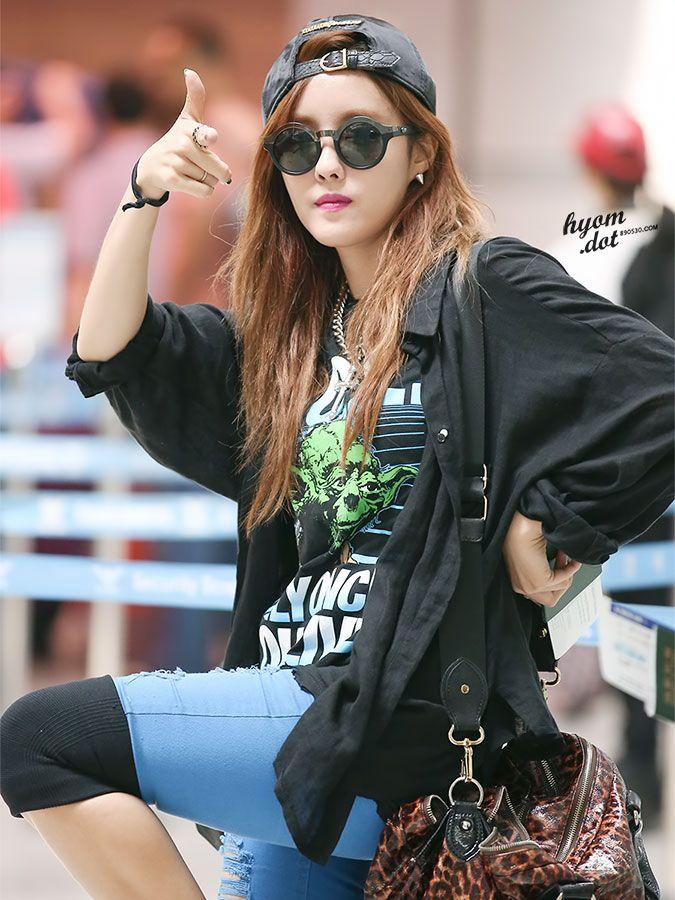 T-ara HyoMin @ Airport