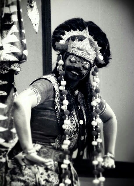 Topeng dance, Indramayu, Indonesia