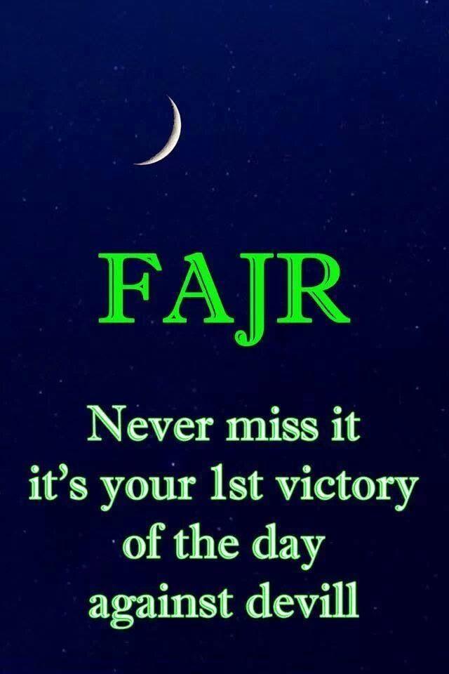 how to make up fajr prayer