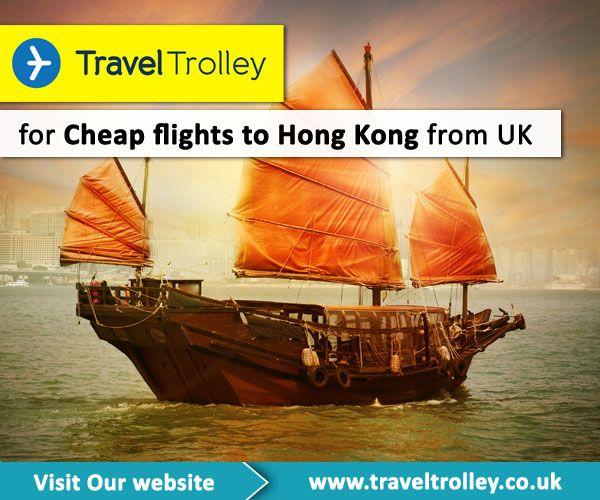 Cheap flights to Hong Kong from UK