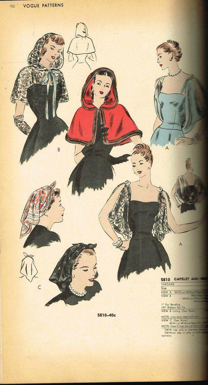 Emily's Vintage Visions: Vogue Counter Catalog - April 1947