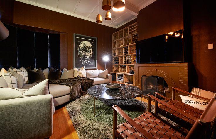 Mancave Saxonwold House 2015 | Nicole Davis Interiors