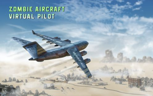 Zombie Aircraft Virtual Pilot - #Flight #Simulator #Game #Androidgames #indiegames #Transylgamia