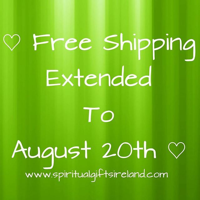 🌟🌈🌟To celebrate our first successful month in business we are offering another month of free worldwide shipping so why not stock up on incense and gemstones at www.spiritualgiftsireland.com 🌟🌈🌟 #freepostage #freedelivery #free #freebies #freedelivery #freeshipping #onlineshopping #jewellery #jewelry #jewelryaddict #fashionjewelry #irishjewellery #uniquejewelry #healingjewelry #yogajewelry #healingcrystals #uniquepieces #spiritualjewelry #accessories #incense #yogalife #consciousliving…