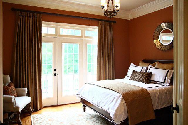 коричневая спальня фото 2