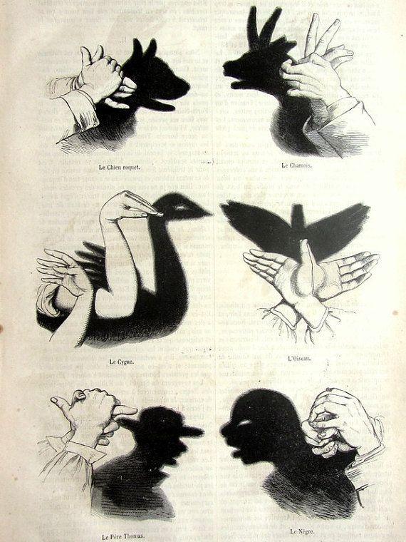 Siluetas para juego de sombras
