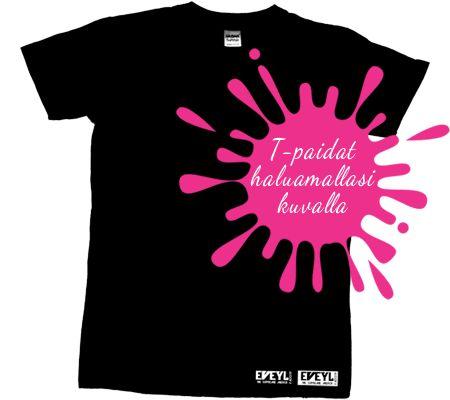 Jos etsit luotettavaa ja paitapaino yrityksenä Suomessa käy sitten sen Eveyl. Tarjoamme myös halvat t-paitoja ja huppareita painatus palveluja. http://www.eveyl.com/ #paitapaino #TPaidatPainatuksella