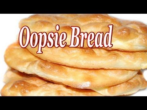 """Oopsie Bread ~ Low Carb/Gluten Free - YouTube (BEST Oopsie video, as far as """"how to"""" - first time maker too)"""