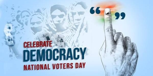 National Voters Day! Each & every citizens of India has the responsibility to elect the leader by Voting! #Chennaiungalkaiyil.
