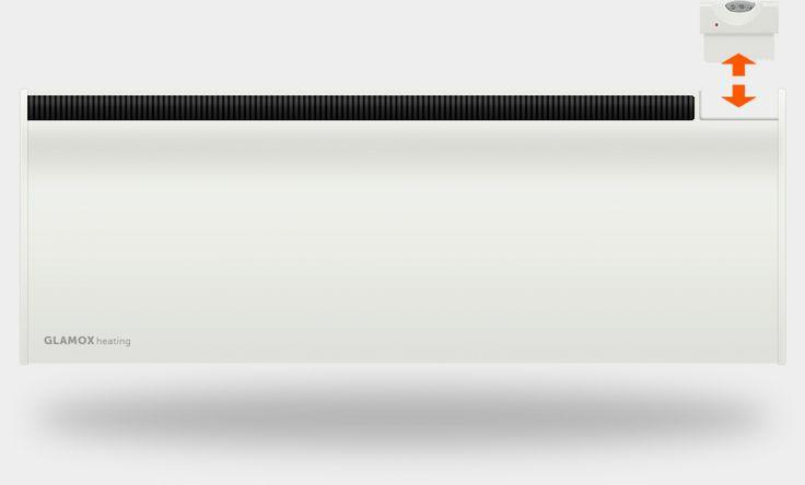 GLAMOX fűtőpanel vezérlése
