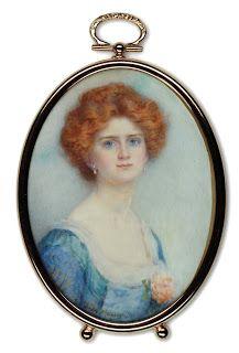 C.1900. Signed. Gertrude Massey. Miss Horton.: