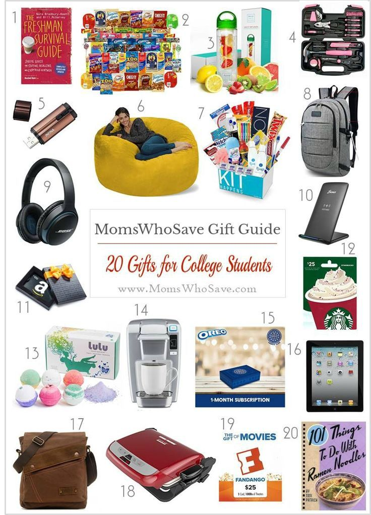 Gift Guide 20 Gifts For Your Favorite College Student Gifts Holidays Christmas College Stud College Student Gifts Student Holiday Gifts Gift Guide