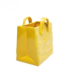 Newspaper Stand Bag Yellow now featured on Fab.