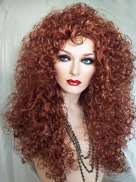 Lioness Wig, Light Auburn. Color 27C So many fabulous ...
