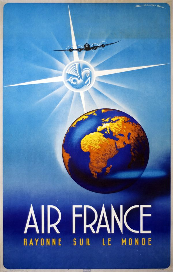 Safety, Speed, Comfort: Rare Posters of World Travel