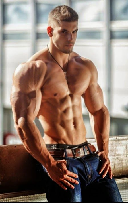 handsome muscular guys