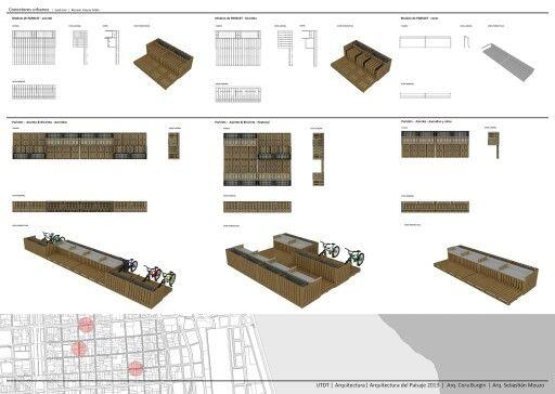 Street Furniture Design Guidelines 35 best parklet designs images on pinterest | public spaces