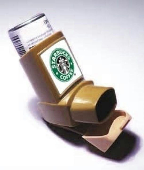 Sometimes you just don't have enough time to drink a cup.... This would be quite handy :)