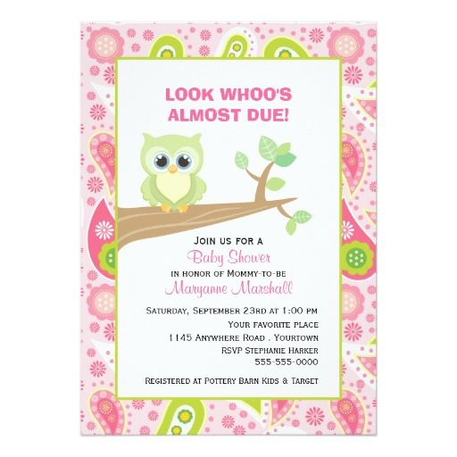 394 best images about pink green baby shower invitations on, Baby shower invitations