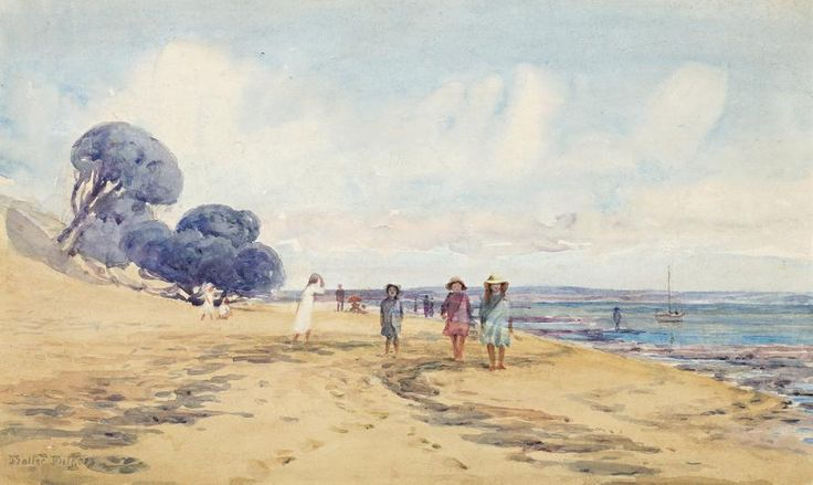 The Artist's Daughters at Cowes, 1902 - Walter Withers (1854-1914)