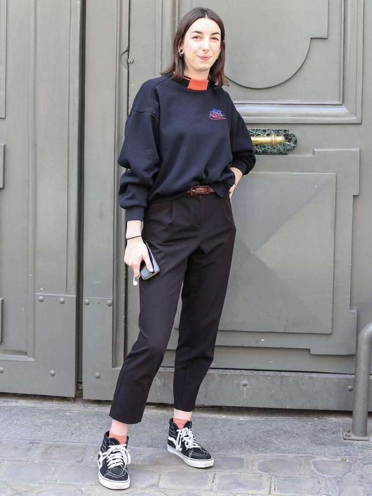 PARIS SNAP:「ヴァンズ」のハイカットがパリで人気! | FASHION | ファッション | VOGUE GIRL