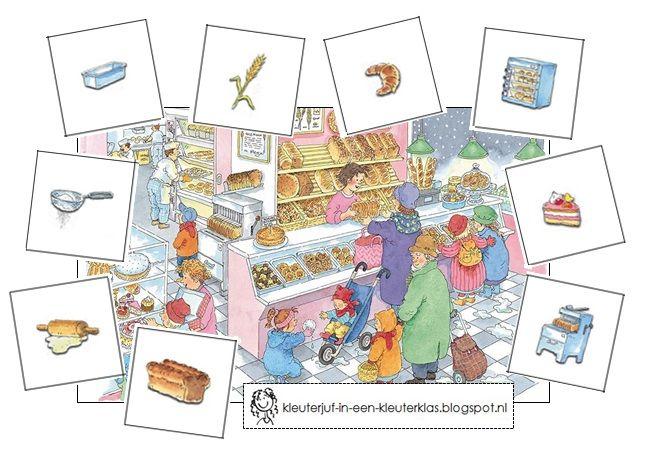 (Kring)activiteit visueel waarnemen (bakker, brandweer, bouwplaats, tandarts, ziekenhuis) (met tekeningen van Dagmar Stam)