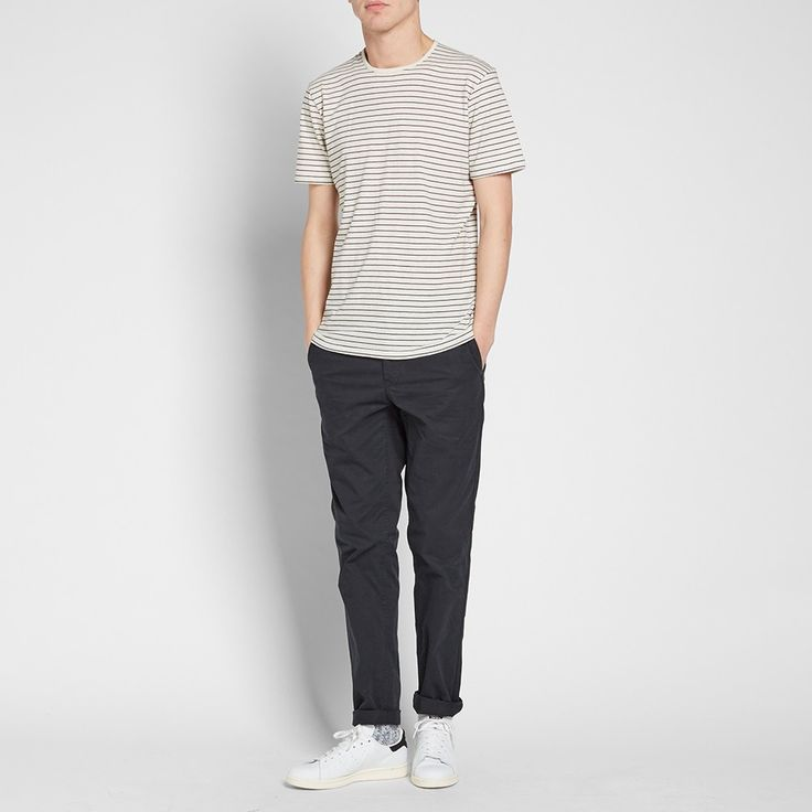 Norse Projects Aros Light Twill Chino (Black)