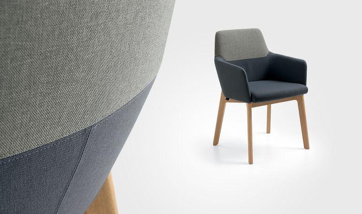 DINING ROOMS - Chairs -  armchair Isla - Venjakob Möbel - Vorsprung durch Design und Qualität