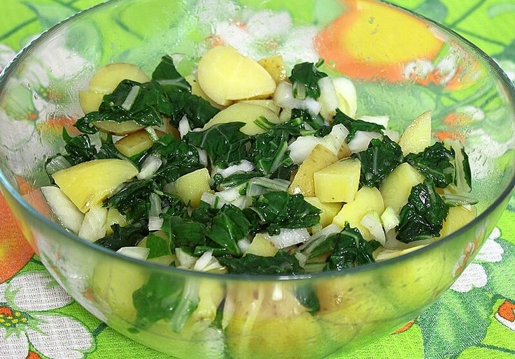Salata od krompira i blitve