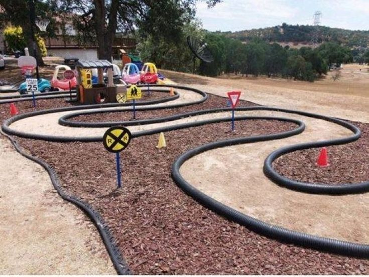 Nice Concepts How To Create Your Personal Playground In The Yard Backyard