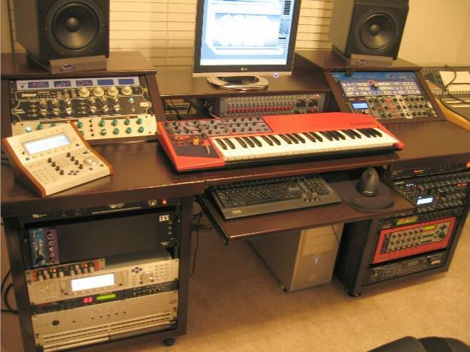 Furniture For Studios studio furniture / workstations and mix positions pictures