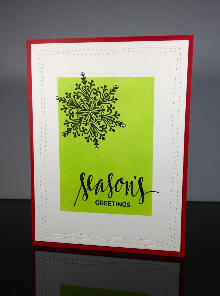 Stephanie Klauck is our amazing Muse at Christmasvisions this week. Her card is so deceptive! I love it! I touched on several elements of Stephanie's style: the large black focus, the script …