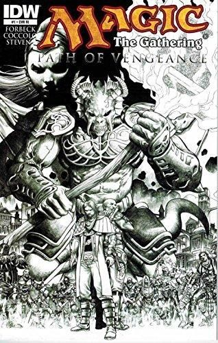 Magic the Gathering Path of Vengeance #1 Retailer Incentive Variant