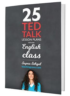 TED Talks for ESL teaching; ESL activities; English teaching