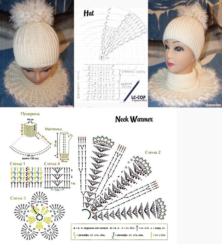Crochet Hat + Neckwarmer